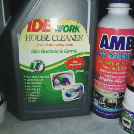 IDE Work Toilet Cleaner Fast Action